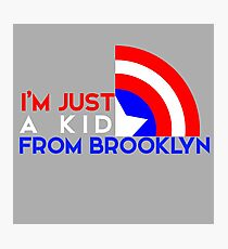 Just a Kid From Brooklyn Photographic Print