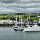 Whitehaven Marina .  by Lilian Marshall
