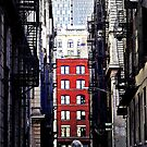 Manhattan Ground Perspective by Mojca Savicki