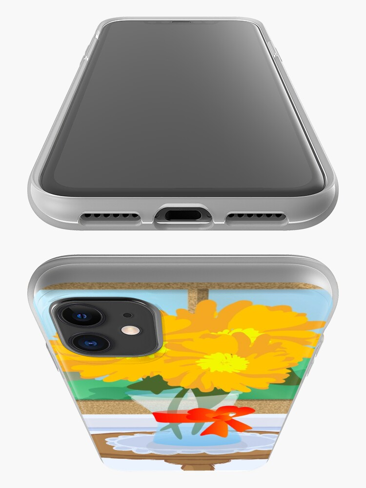Alternate view of Flowers by a Window iPhone Case & Cover