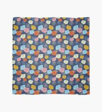 Bright Colorful Roses Pattern Scarf