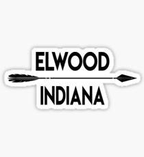 Elwood Indiana Sticker