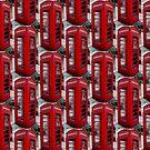 Red Telephone Box  by PeopleInMyHead