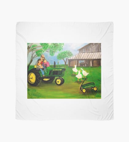 Tommy's Tots, Tractor, Ducks, Farm... Scarf