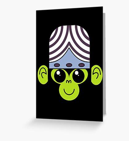 Cute Mojo Jojo Greeting Card