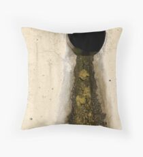 Yawning Smoke Throw Pillow