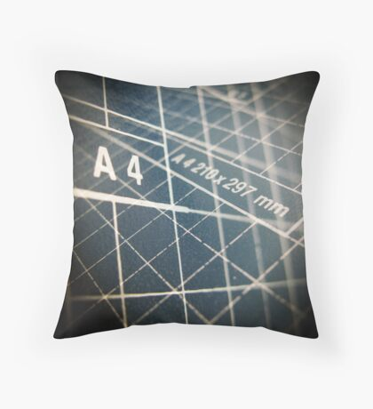DIN A4 Throw Pillow