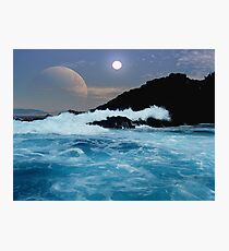 Shipwreck Rocks Photographic Print
