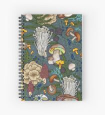 Cuaderno de espiral bosque de setas