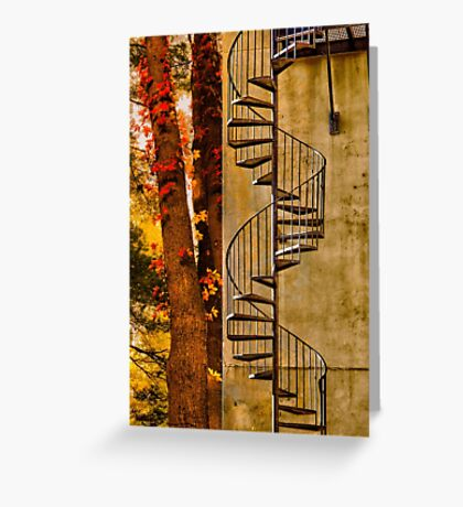 ESCAPE TO THE FALL Greeting Card