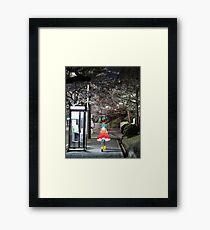 Monogatari – Doll Walk Framed Print
