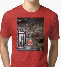 Monogatari – Doll Walk Tri-blend T-Shirt