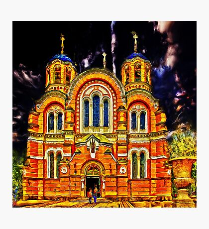 St Volodymyr's Cathedral Photographic Print