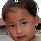 RUMTEK CHILD by JYOTIRMOY Portfolio Photographer