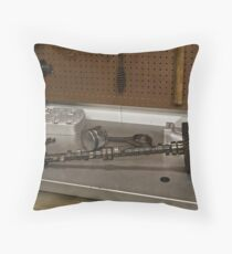 CAMSHAFT Throw Pillow