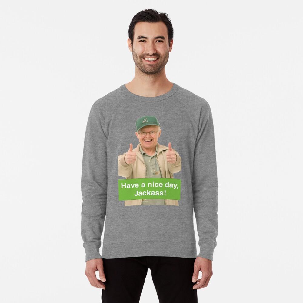 corner gas oscar jackass Lightweight Sweatshirt