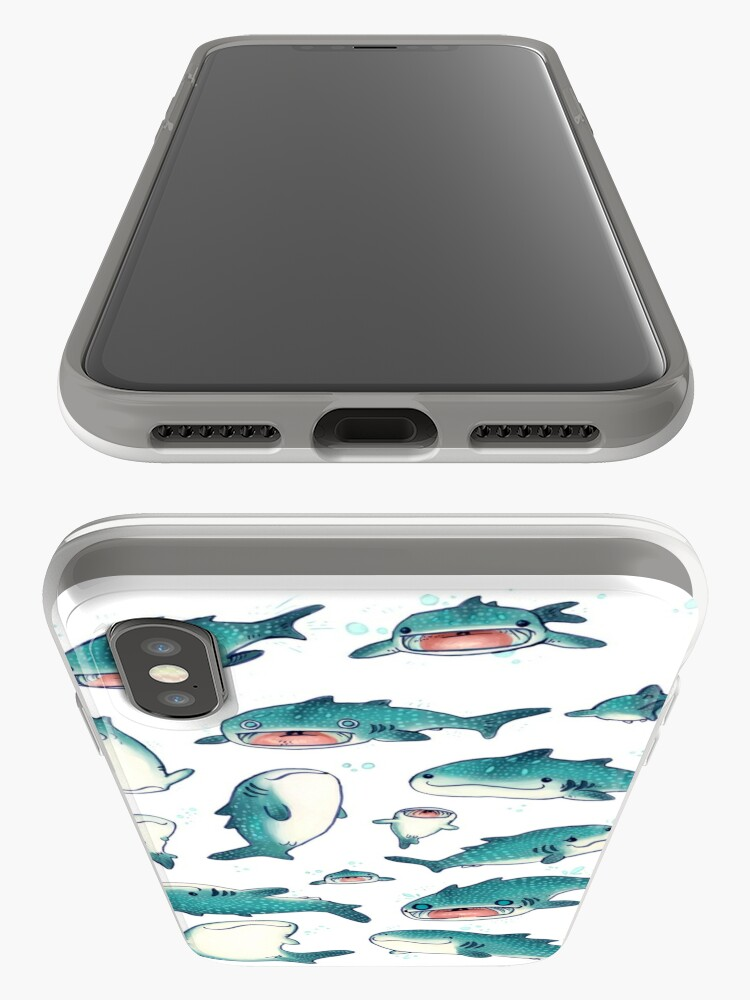 Alternate view of whale sharks! iPhone Case & Cover