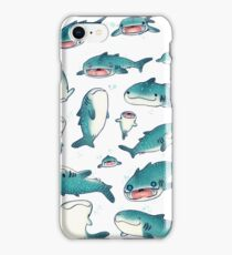 whale sharks! iPhone Case/Skin