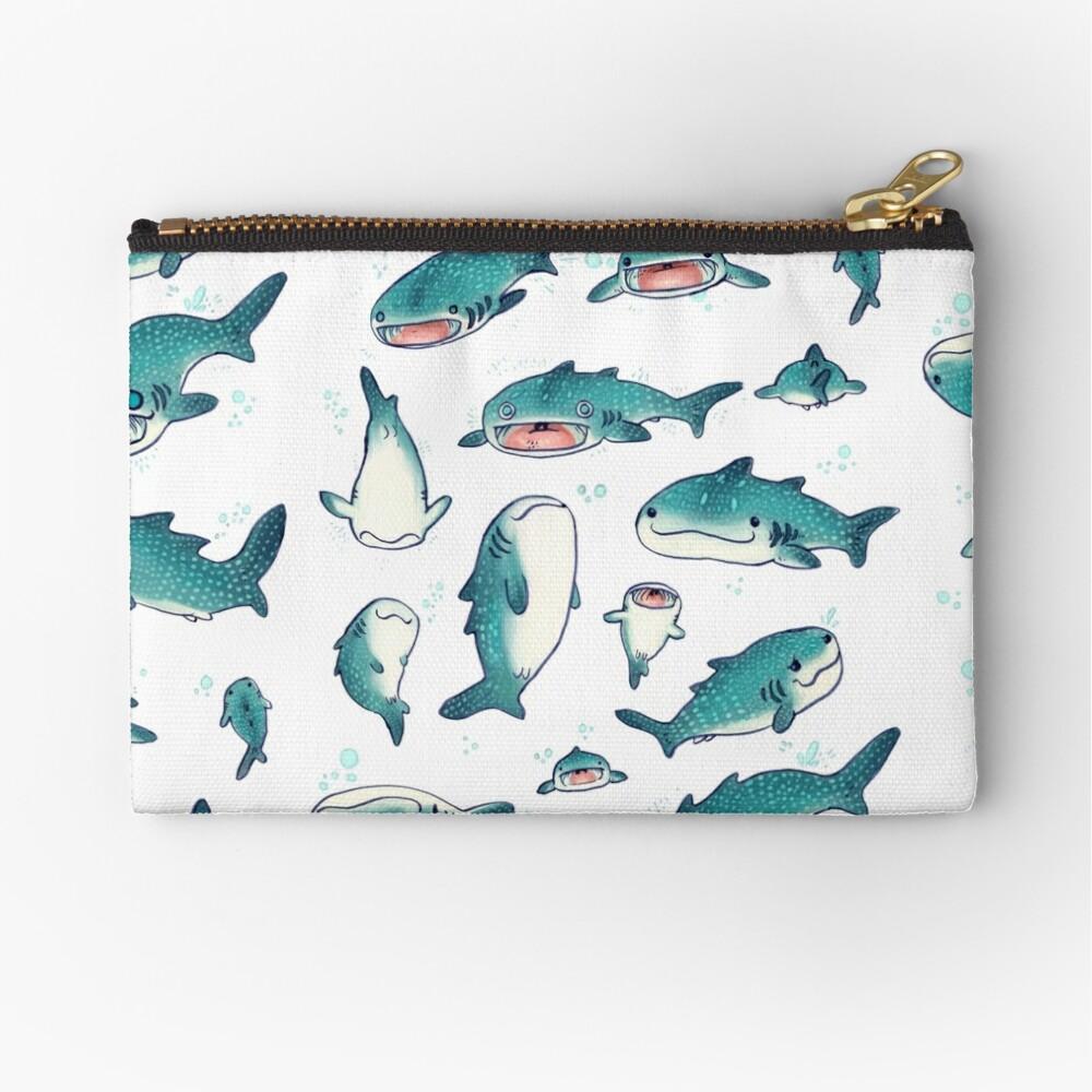 whale sharks! Zipper Pouch