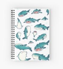 Cuaderno de espiral ¡tiburones ballena!