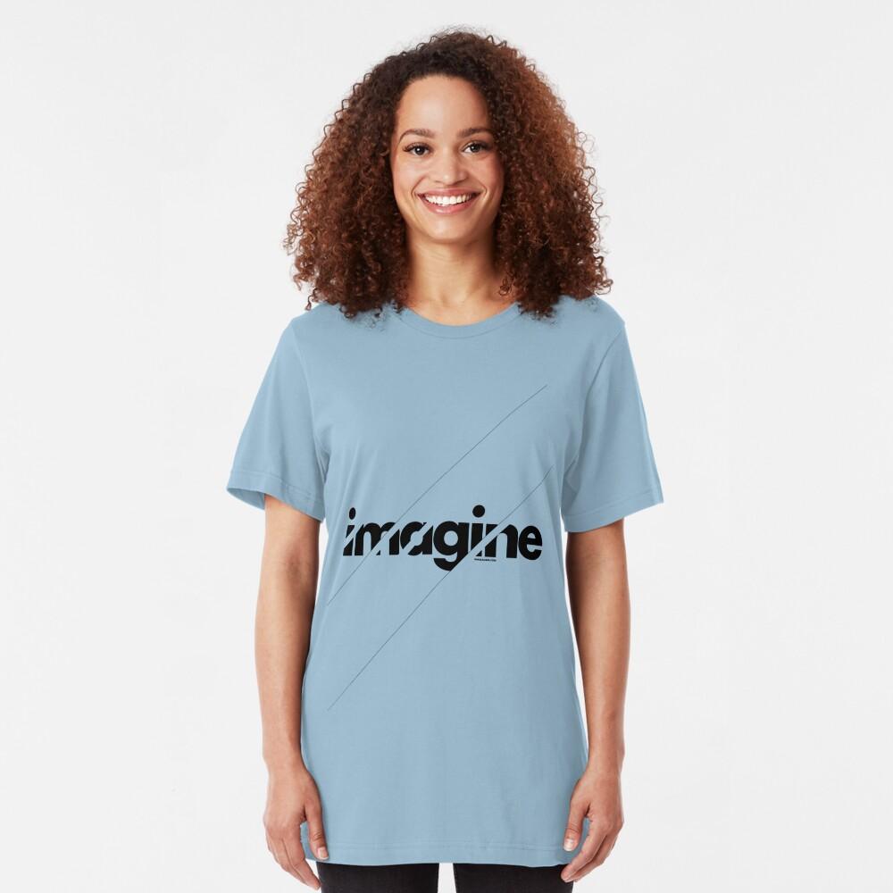 Imagine under stripes Slim Fit T-Shirt