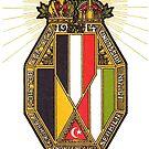WWI 1914 Trutzbund...Central Powers  by edsimoneit
