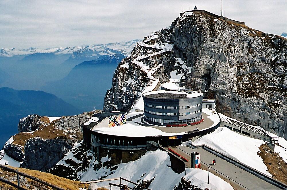Mt. Pilatus. Lucerne, Switzerland  by Ralph de Zilva