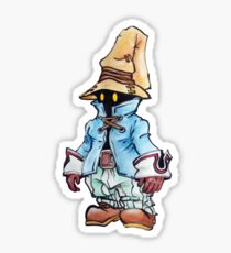 Final Fantasy 9 Vivi in Pastel &Colour Pencil Sticker