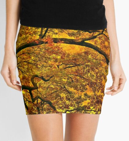 Burning fall Mini Skirt