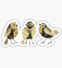 24-Karat Goldfinches Sticker