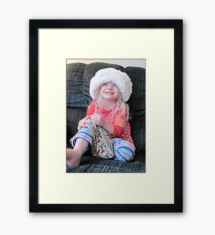 What A Hat! Framed Print