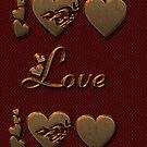 Burgundy Love by SueAnnApparel