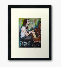 JD Piano Framed Print