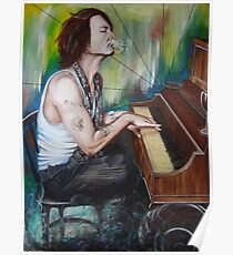 JD Piano Poster