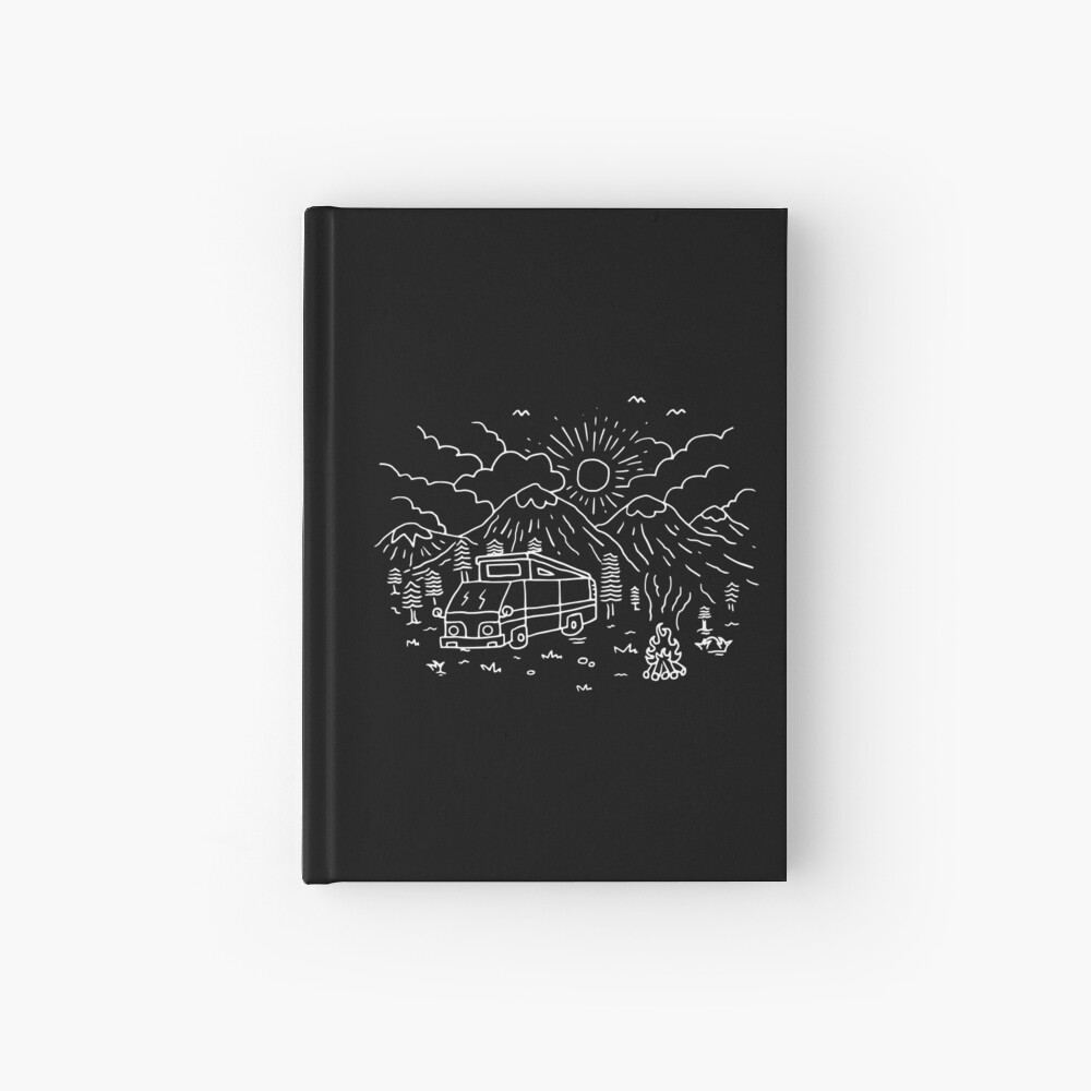 Vagar (para la oscuridad) Cuaderno de tapa dura