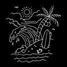 «Las olas están llamando (para la oscuridad)» de Quilimo Studio