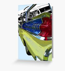 Mercury County Cruiser Greeting Card