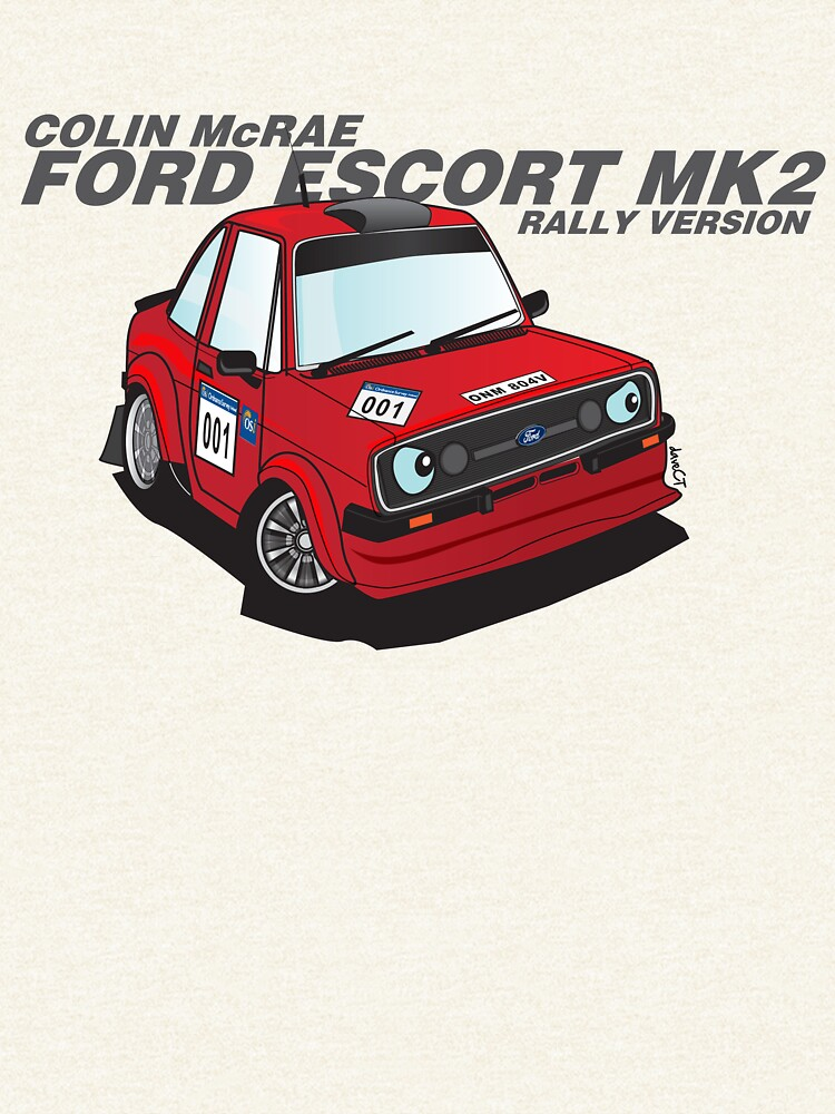 Ford Escort MK2 rally\