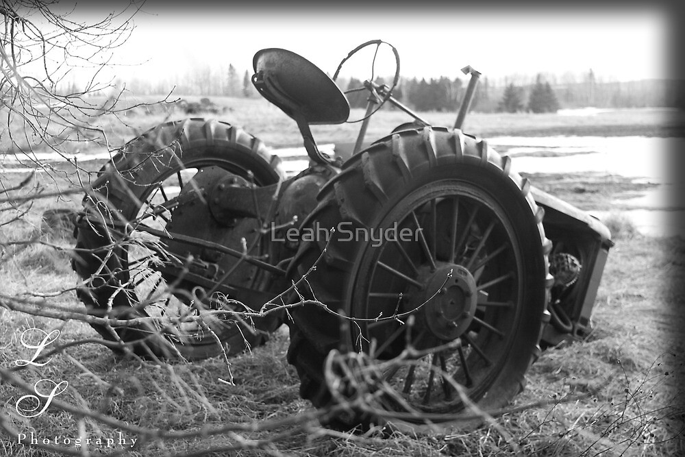 Antique Tractor by Leah Snyder