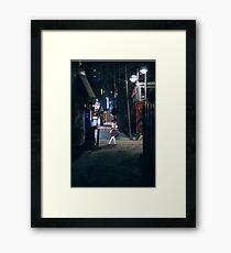 Monogatari – Nadeko Street Framed Print