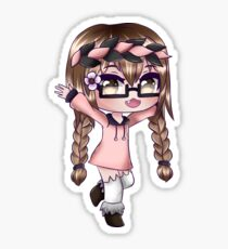 Cute Anime Girl - Gacha Edit Sticker