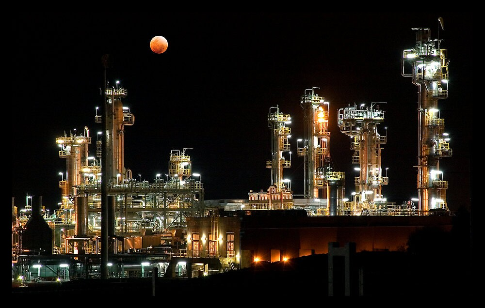Otway Gas Plant by Janet Rogerson