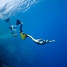 Funny freediving games at the Red Sea by Sergey Orlov