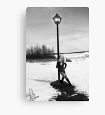 Lonely... Canvas Print