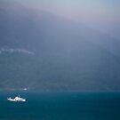 Bluemlisalp paddle steamer, Lake Thun, Switzerland by Mark Howells-Mead