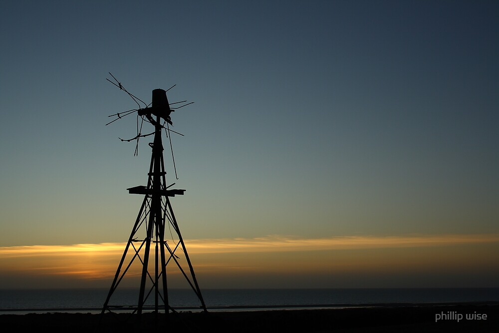 broken windmill by phillip wise