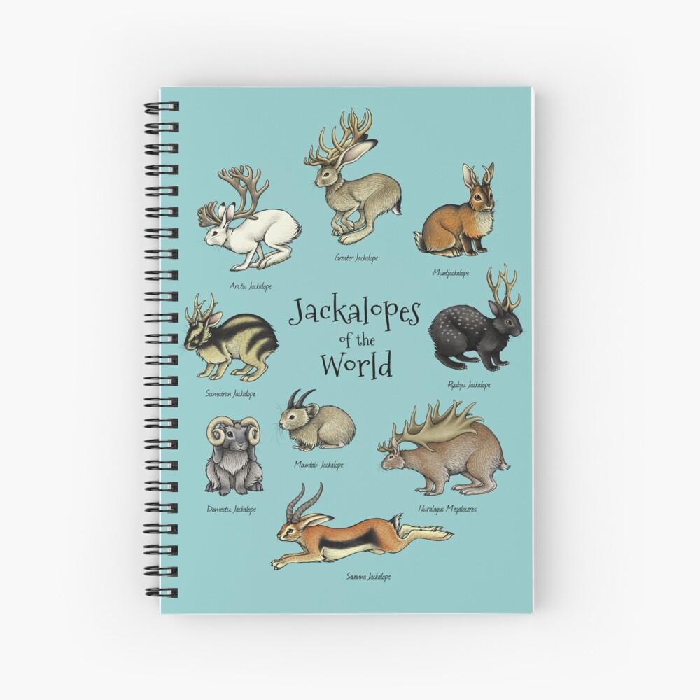 Jackalopes of the World Spiral Notebook