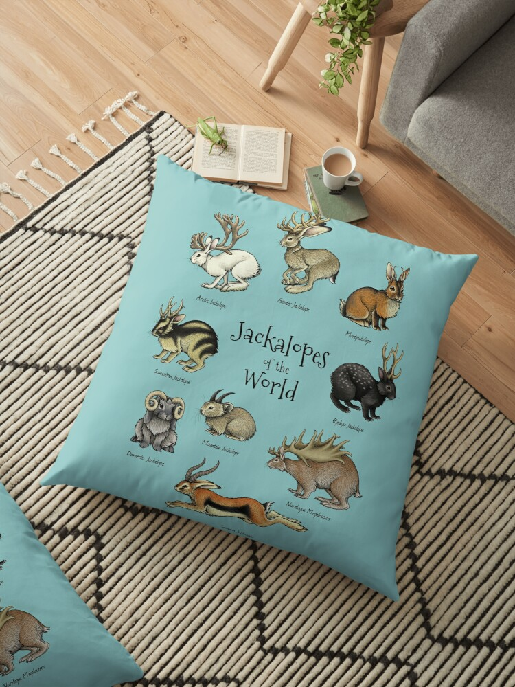 Jackalopes of the World by Lyndsey Green