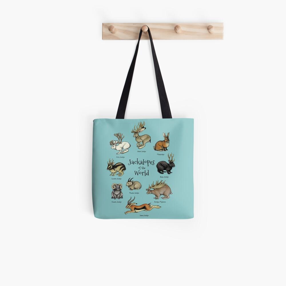 Jackalopes of the World Tote Bag