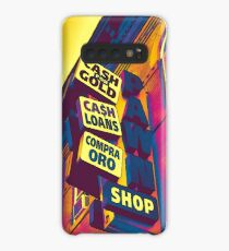 Cash for Gold - Bay Ridge Brooklyn Neon Pop Art - Urban Photography Case/Skin for Samsung Galaxy